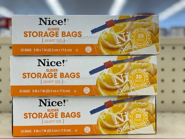 Walgreens Nice Resealable Storage Bags Only 93 Per Box