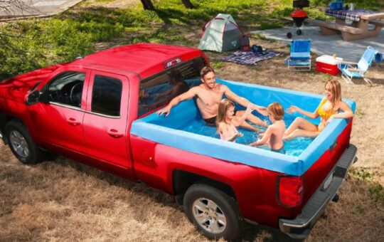 Truck Swimming Pool
