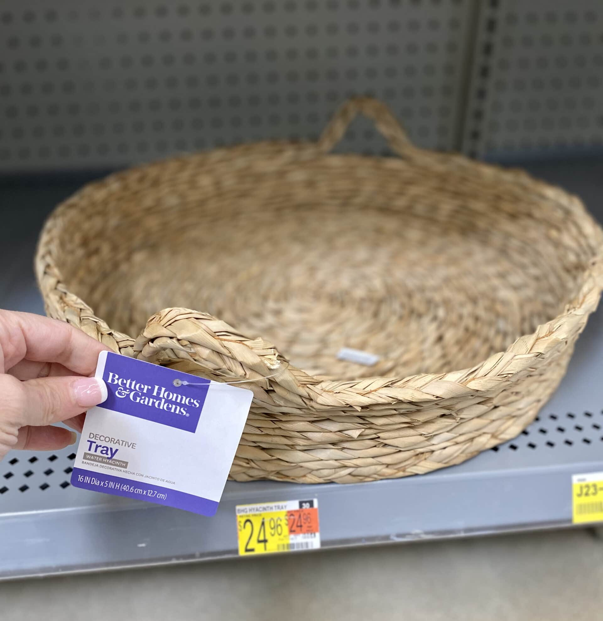 walmart decor tray