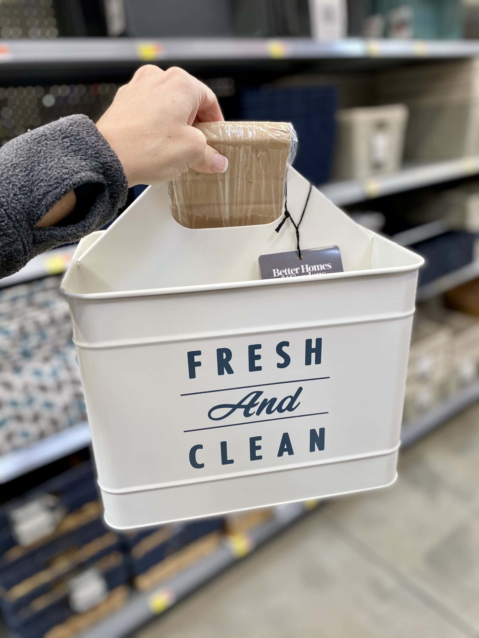 walmart laundry tins