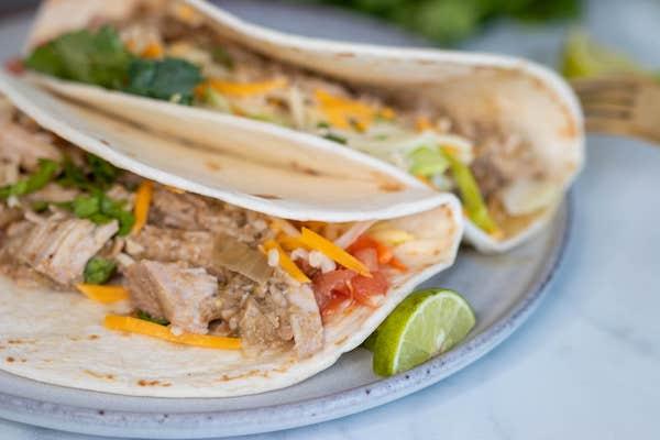 Crockpot recipes tacos