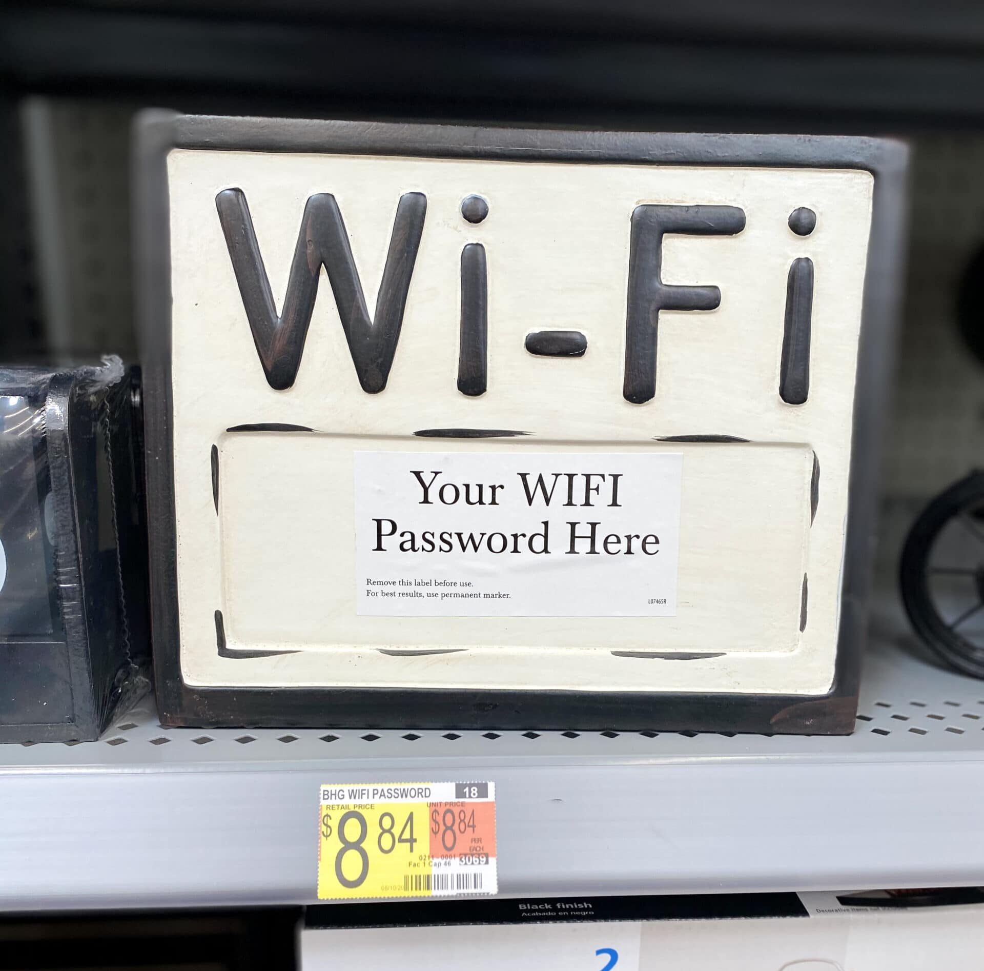 walmart wi-fi decor