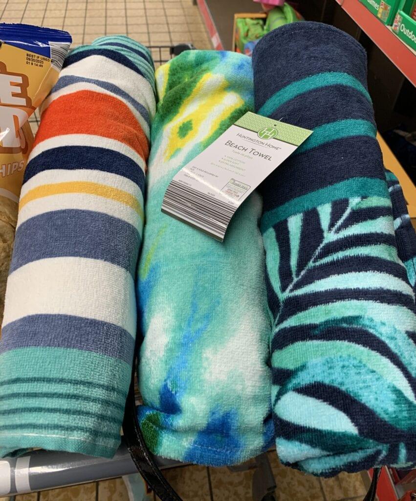 Aldi Toys Beach Towel