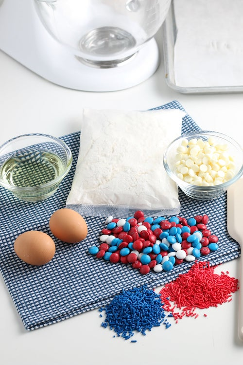 cake mix cookie recipe ingredients