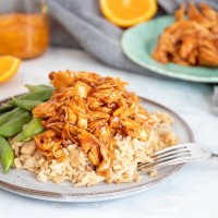 Crockpot Orange Chicken Recipe | Just 5 Items (And SO Good!)