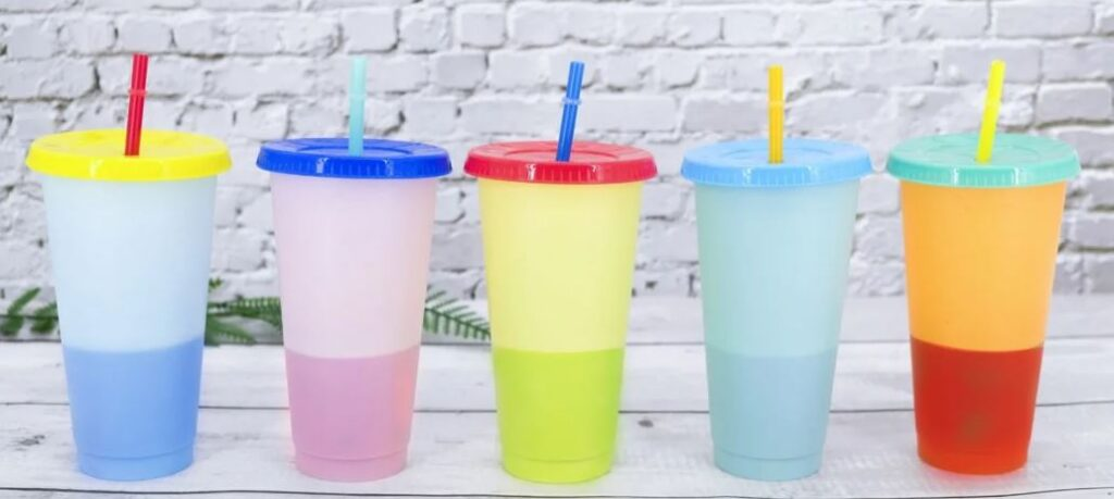 Color Changing Tumblers