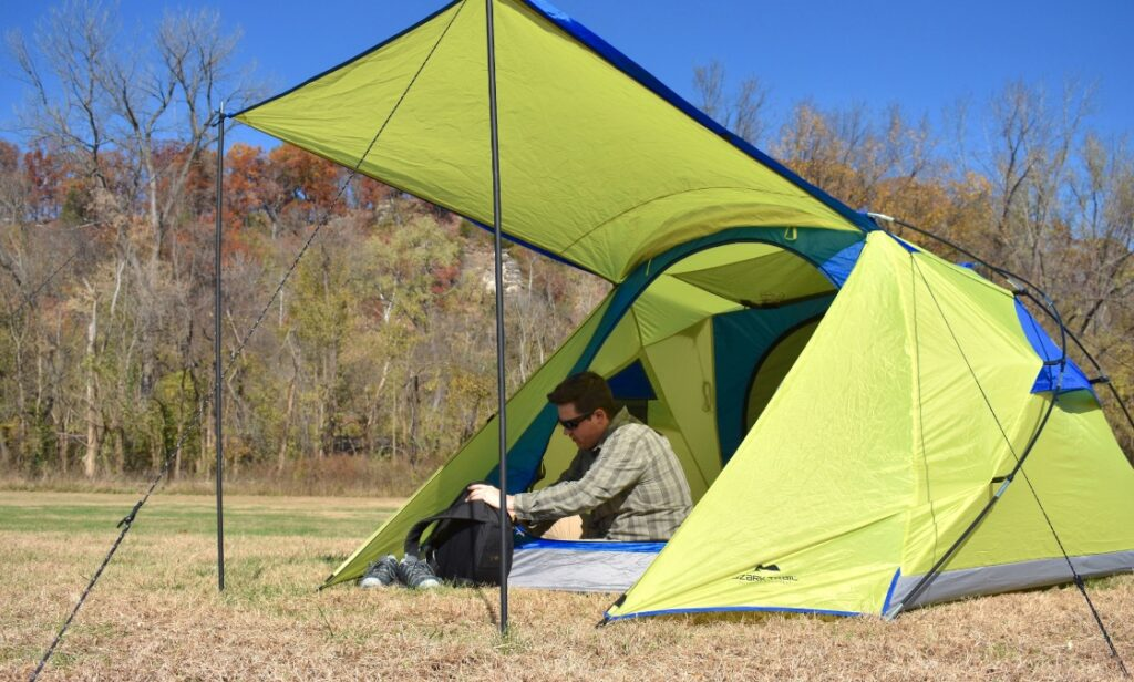 ozark trail tent sale backpacking tent