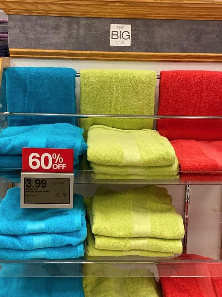 Kohl's The Big One Bath Towel