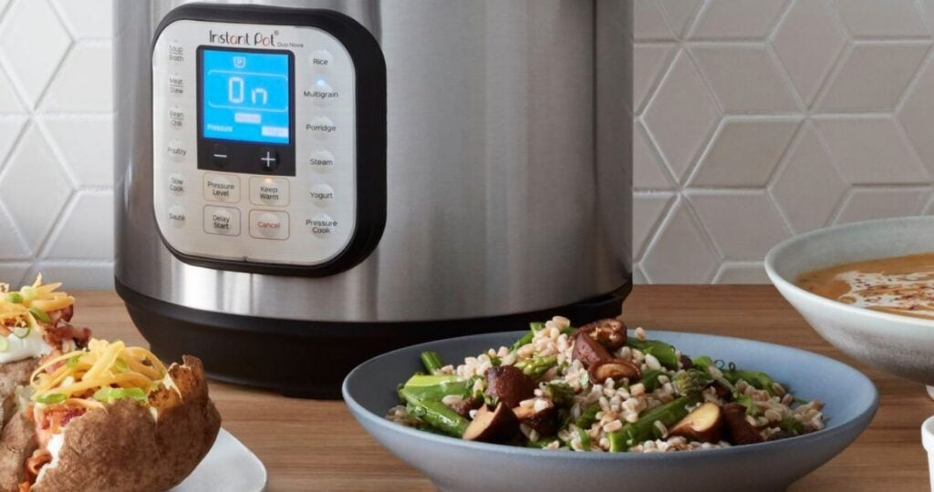 Instant Pot Duo Crisp with Food