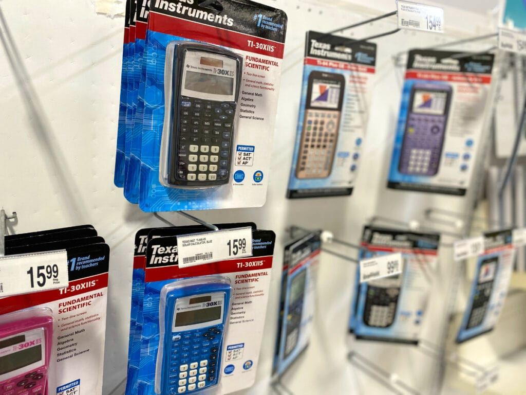 Staples Coupon Graphing calculators