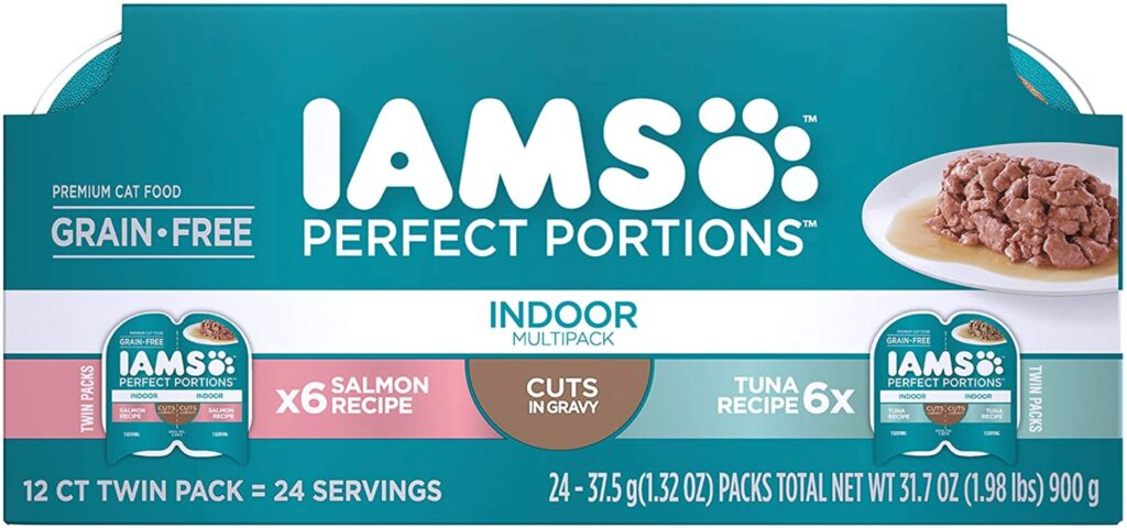 IAMS Cat food sale perfect portions variety pack