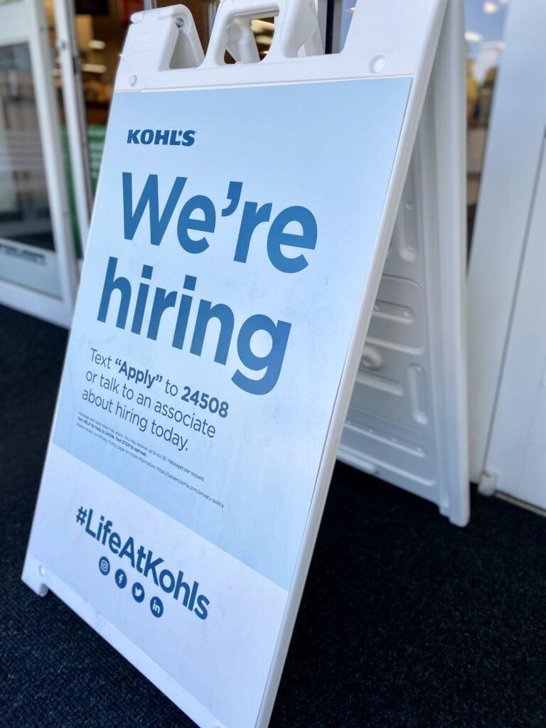 kohl's hiring
