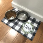 personalized pet mat