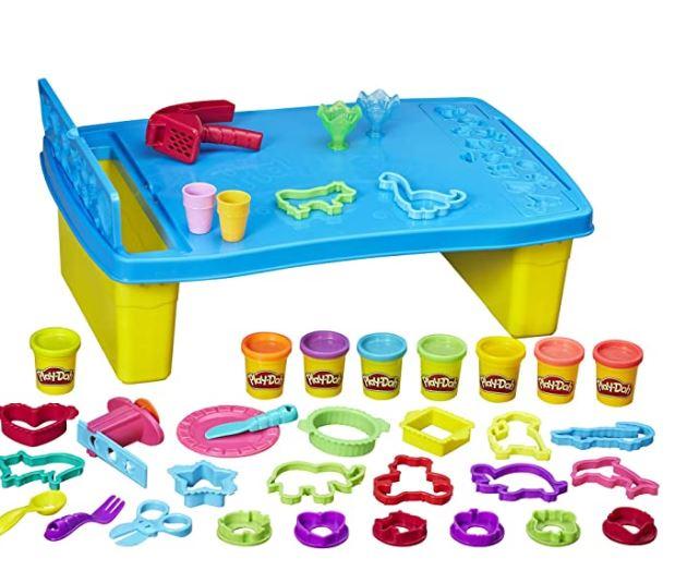 Play-Doh Set Storage Table