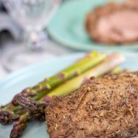 Grilled Pork Tenderloin Recipe with Garlic Herb Marinade