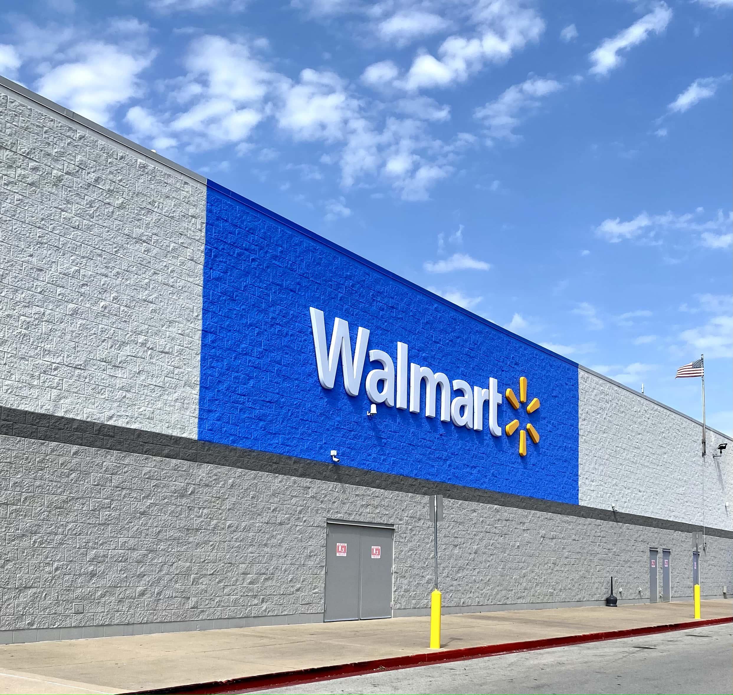 walmart black friday sales - storefront