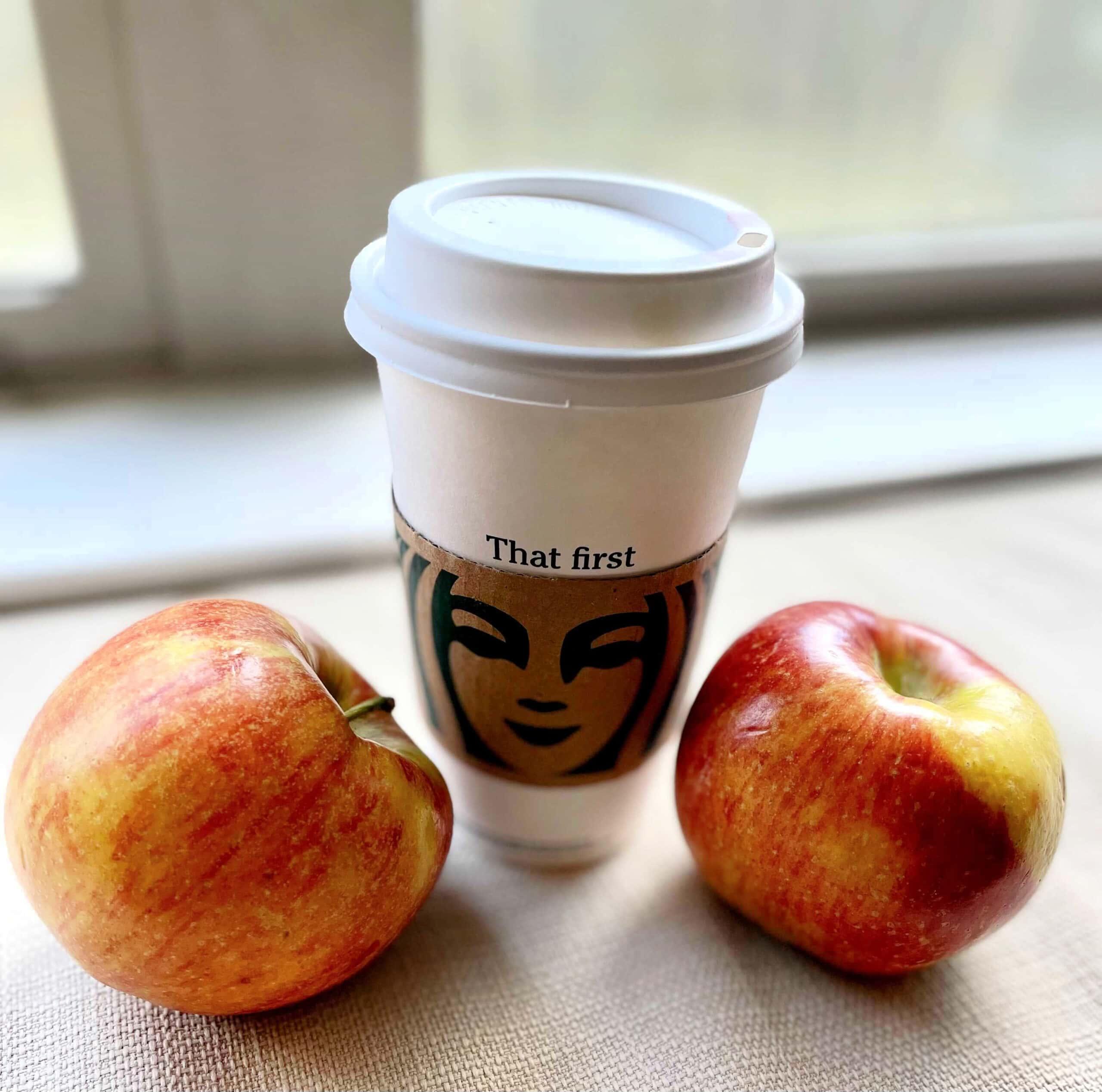 starbucks apple