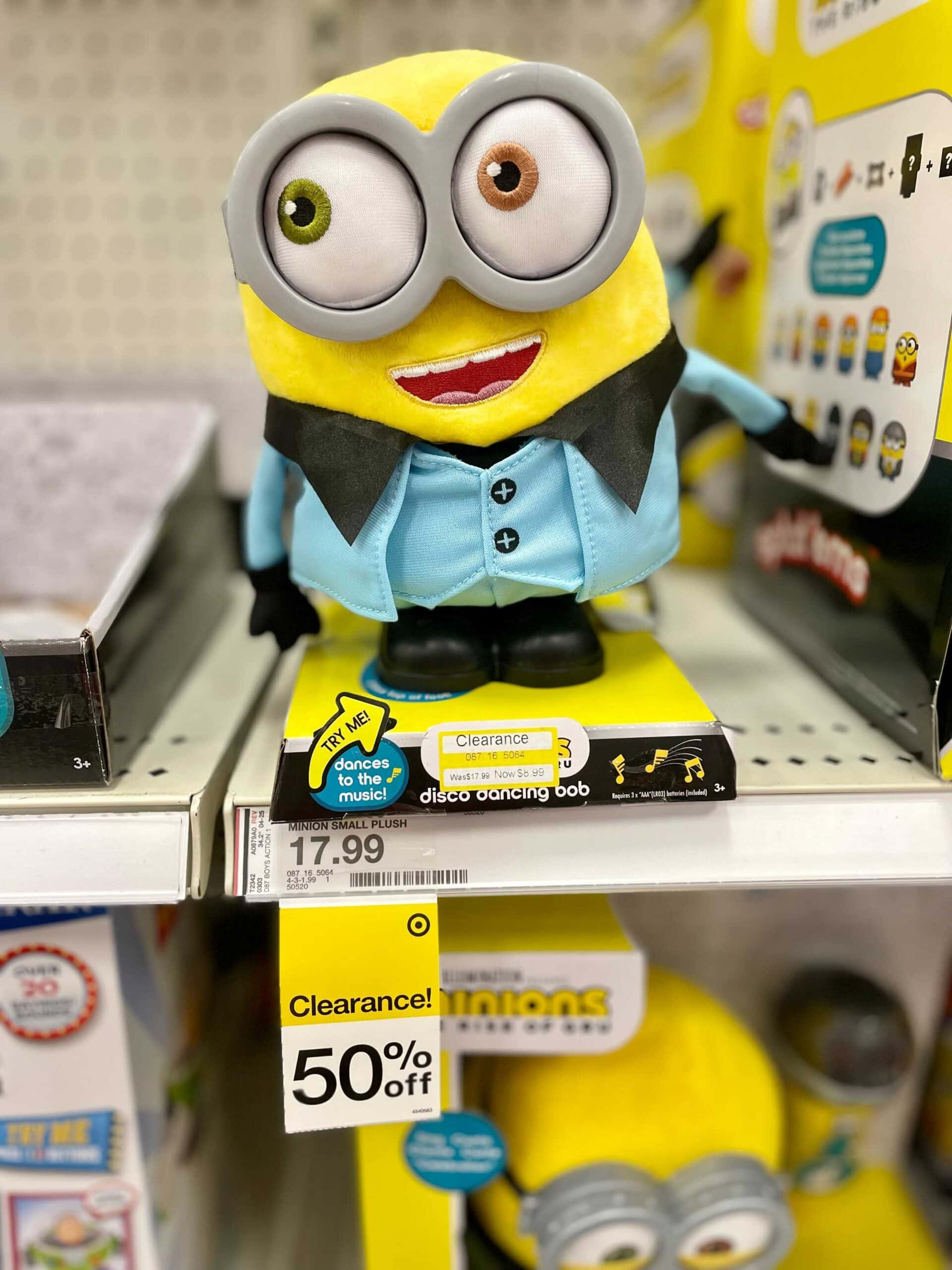 target toy clearance
