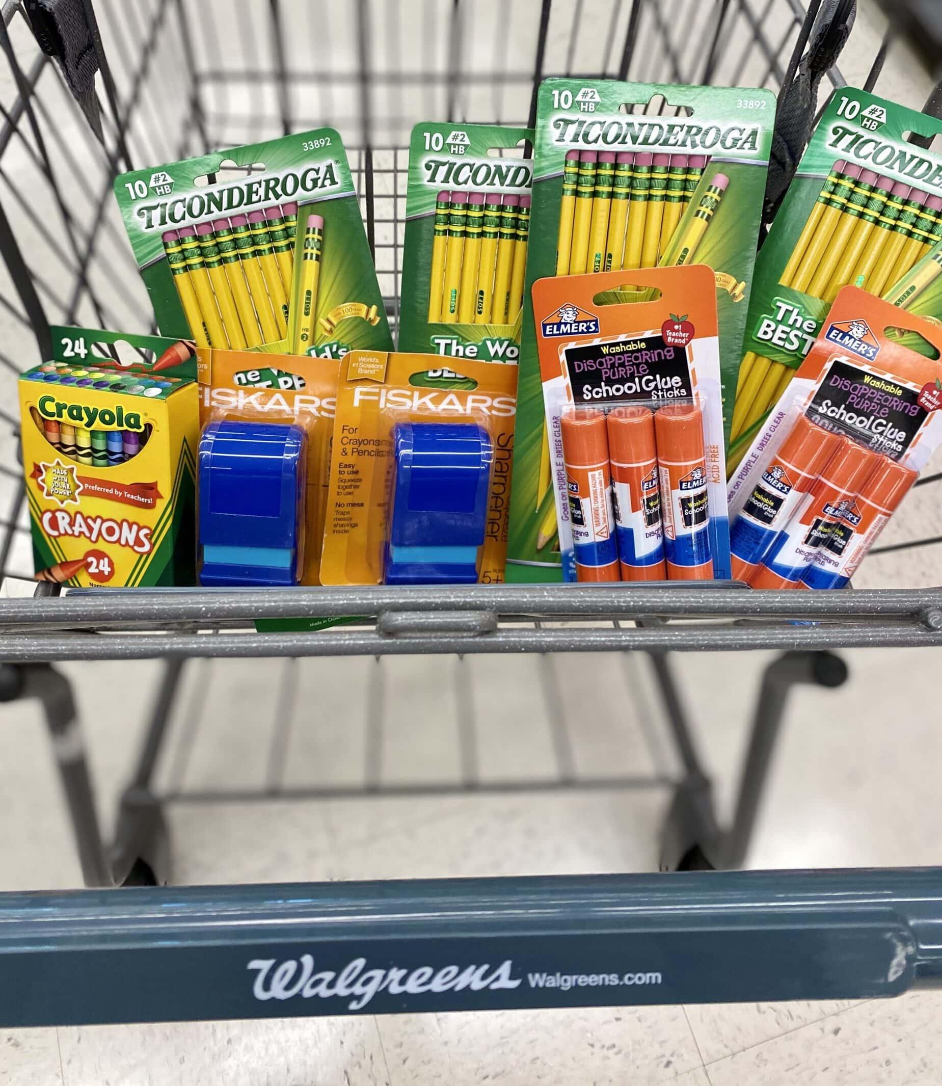 walgreens school supplies