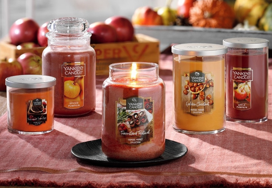 Yankee Candle Sale Fall Scents