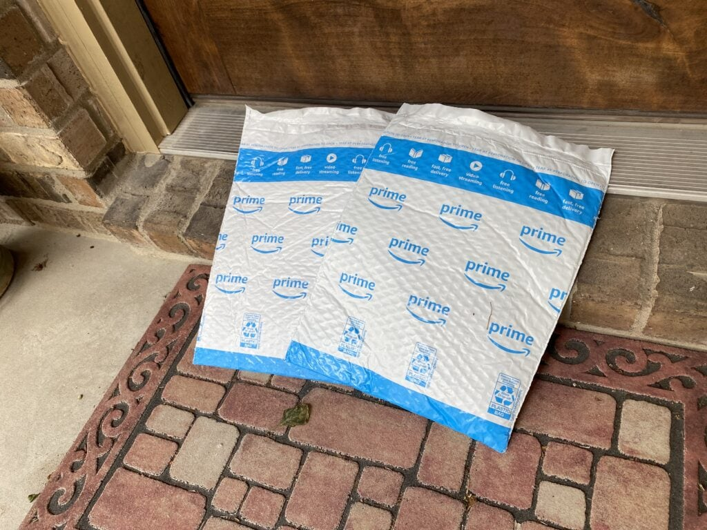 Amazon Prime Packages on Step