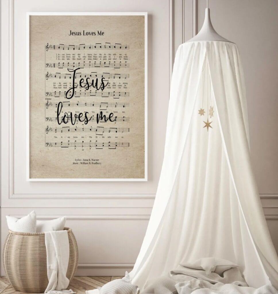 Hymn Print
