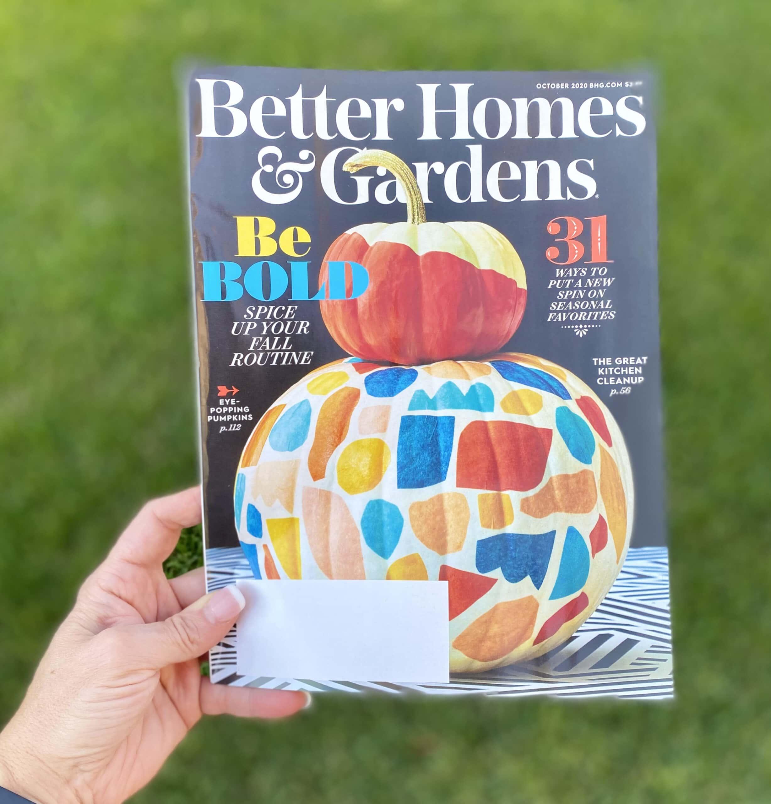 bhg magazine