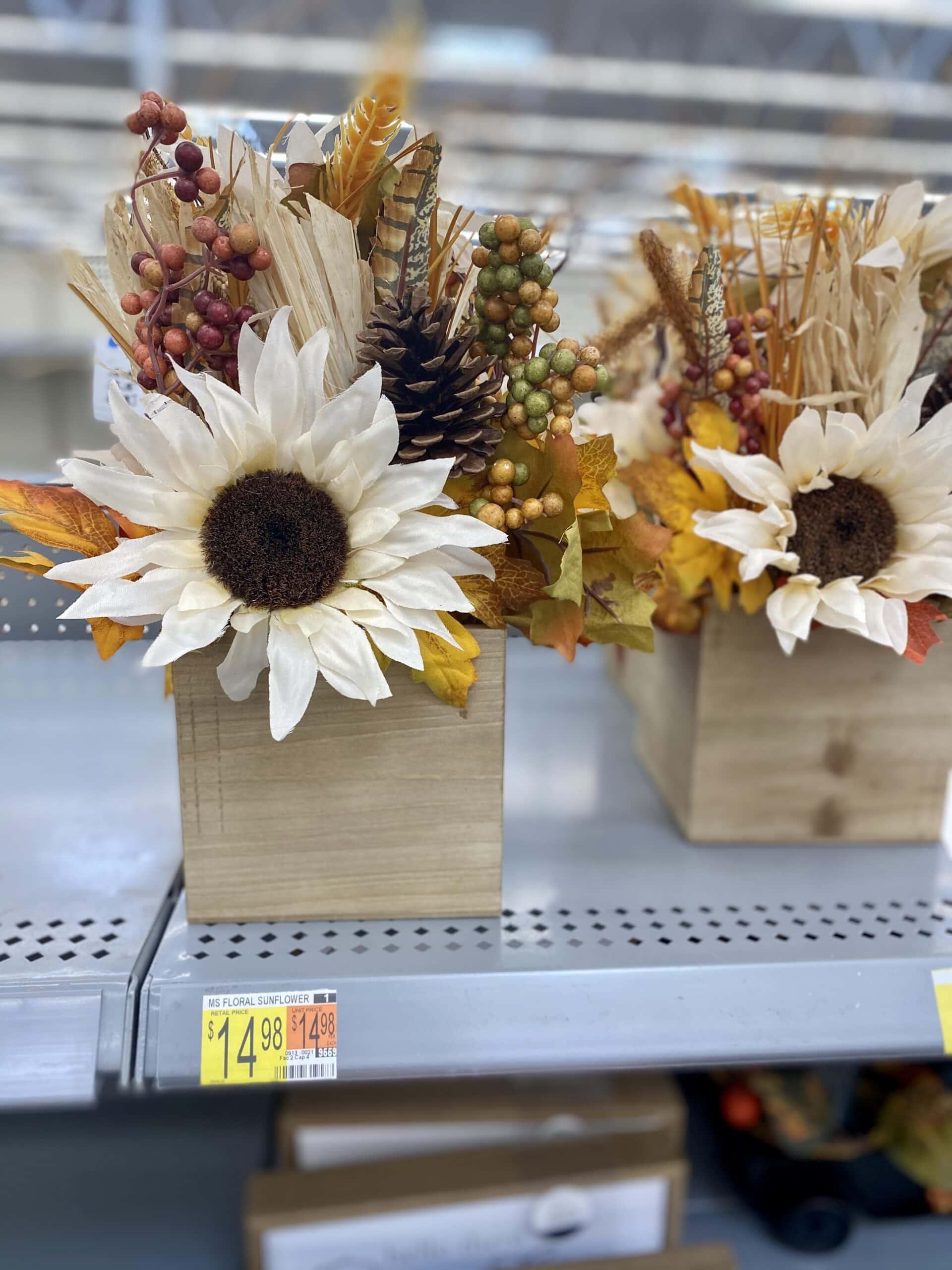 floral sunflower walmart fall decor