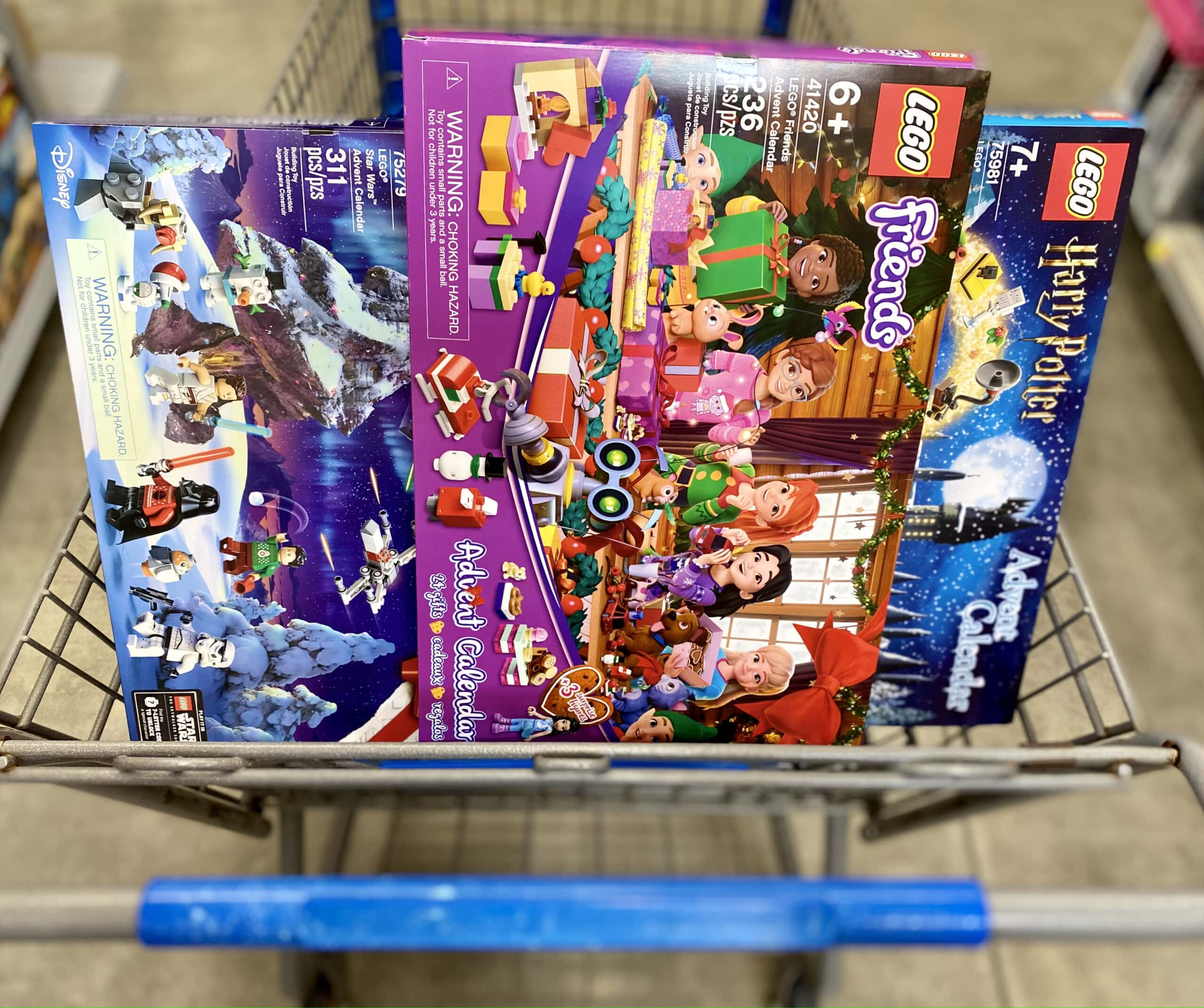 lego advent at walmart