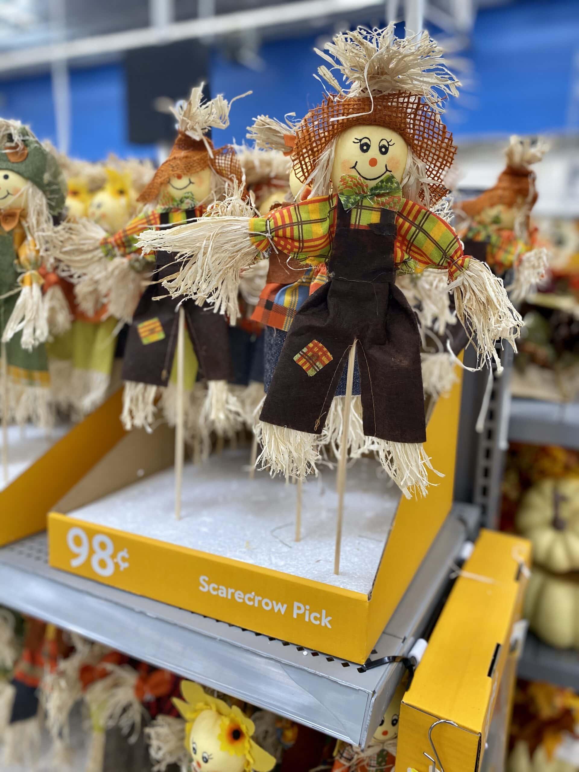 scarecrow - walmart fall decor