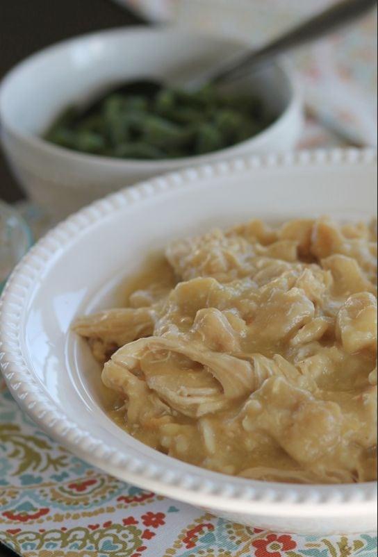 chicken and dumplings crockpot recipes