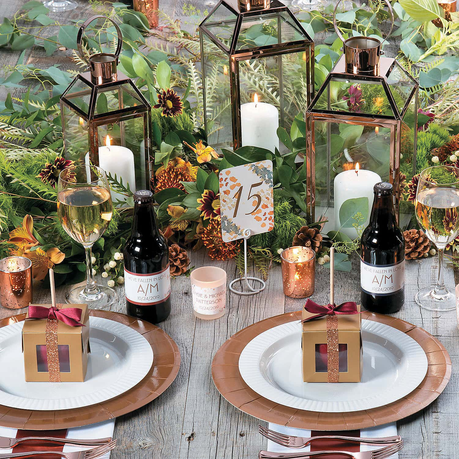 fall table cards