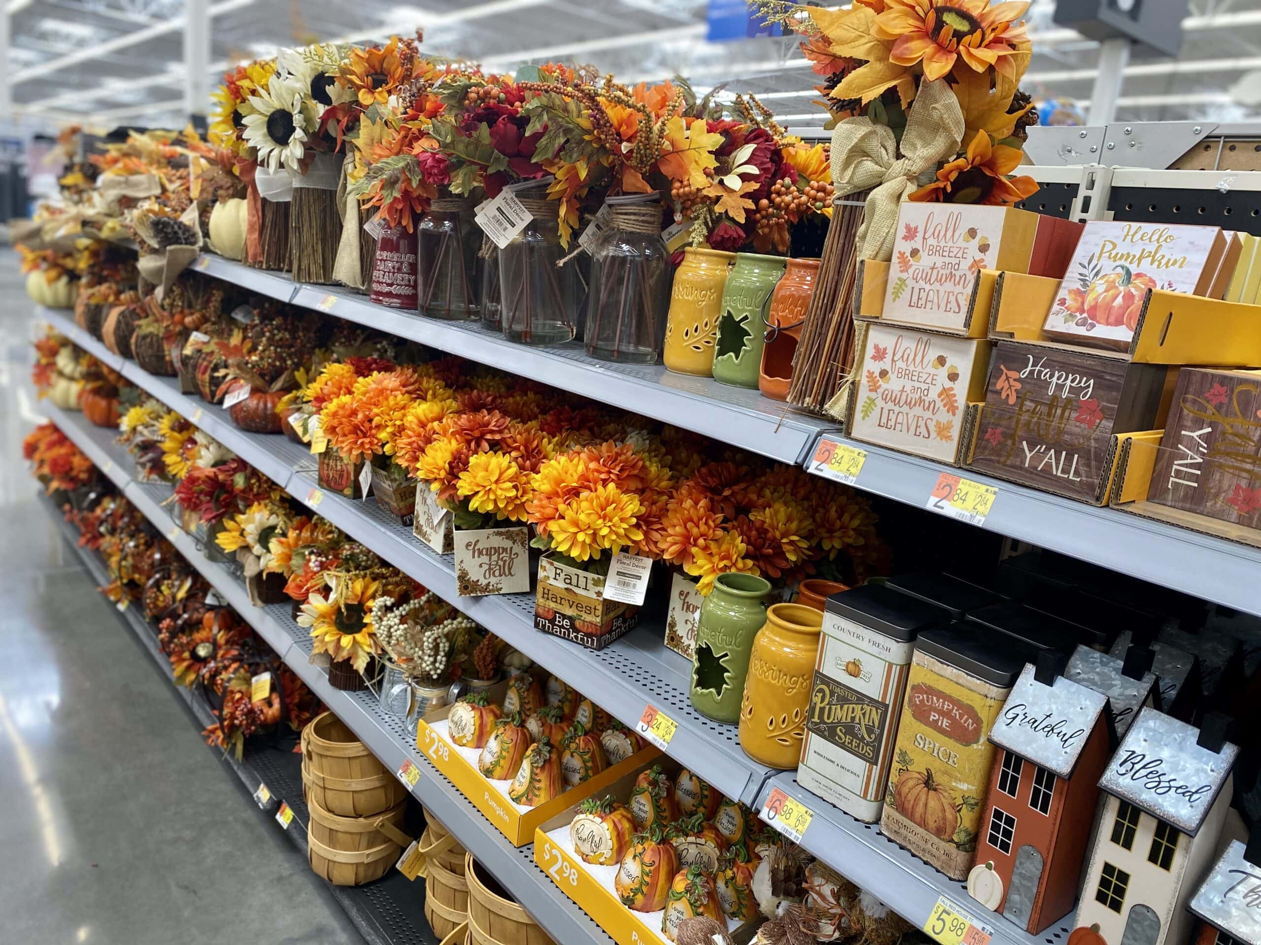 Walmart Fall Decor Is Here And We Re Loving It All