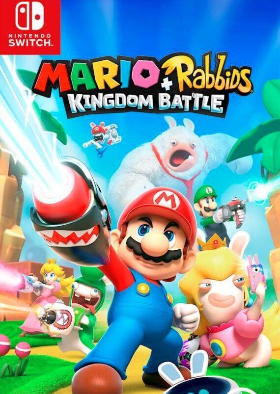 Nintendo Switch Games Mario + Rabbids