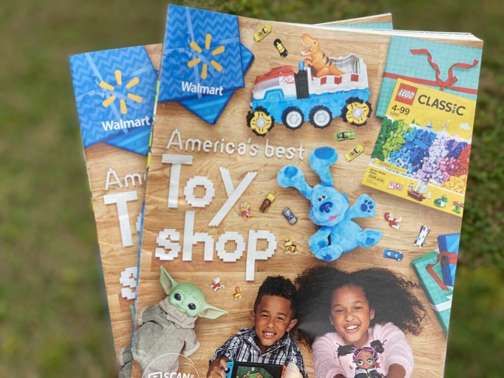 Walmart Toy Book