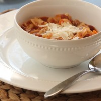 Olive Garden Pasta Fagioli Soup Recipe (For Your Slow Cooker!)