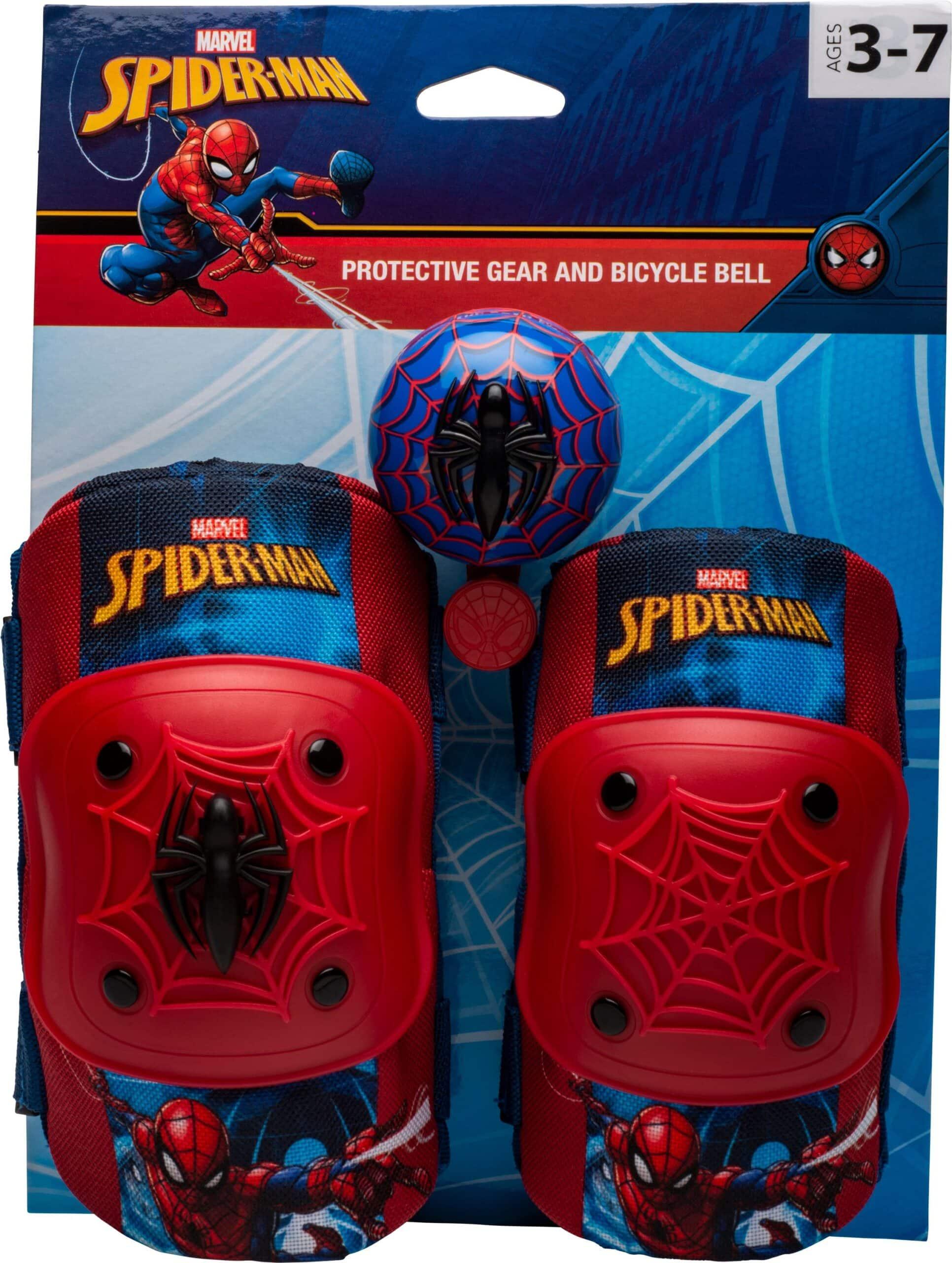 spider man knee pad set