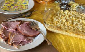 Ham on Platter