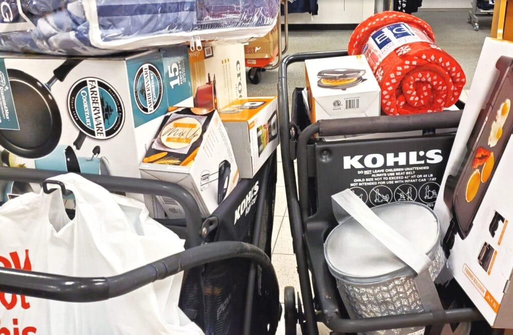 Kohl's Shopping Cart