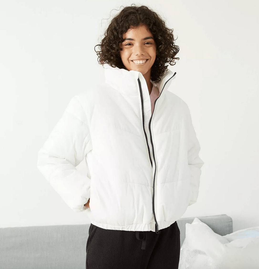 target puffer jacket