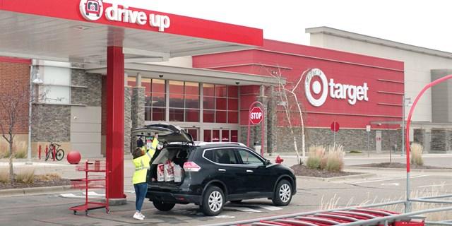 Target drive up
