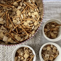 Homemade Chex Mix Recipe (Great for Snacking AND Gifting!)