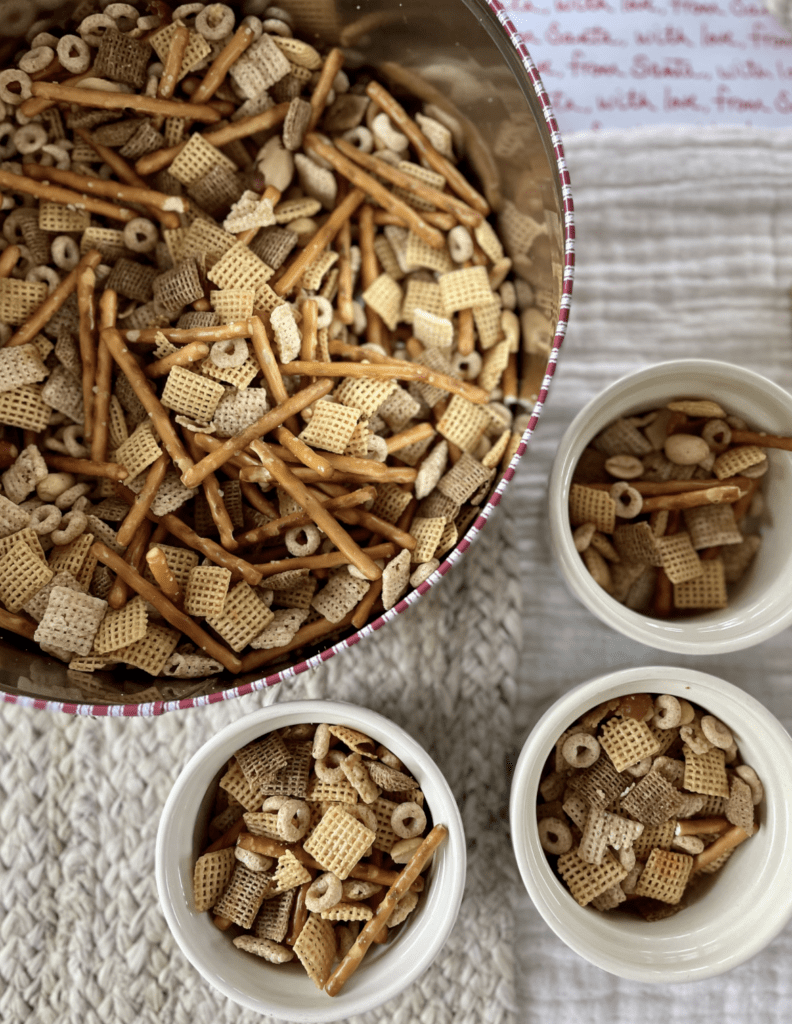 Tin for Chex Mix