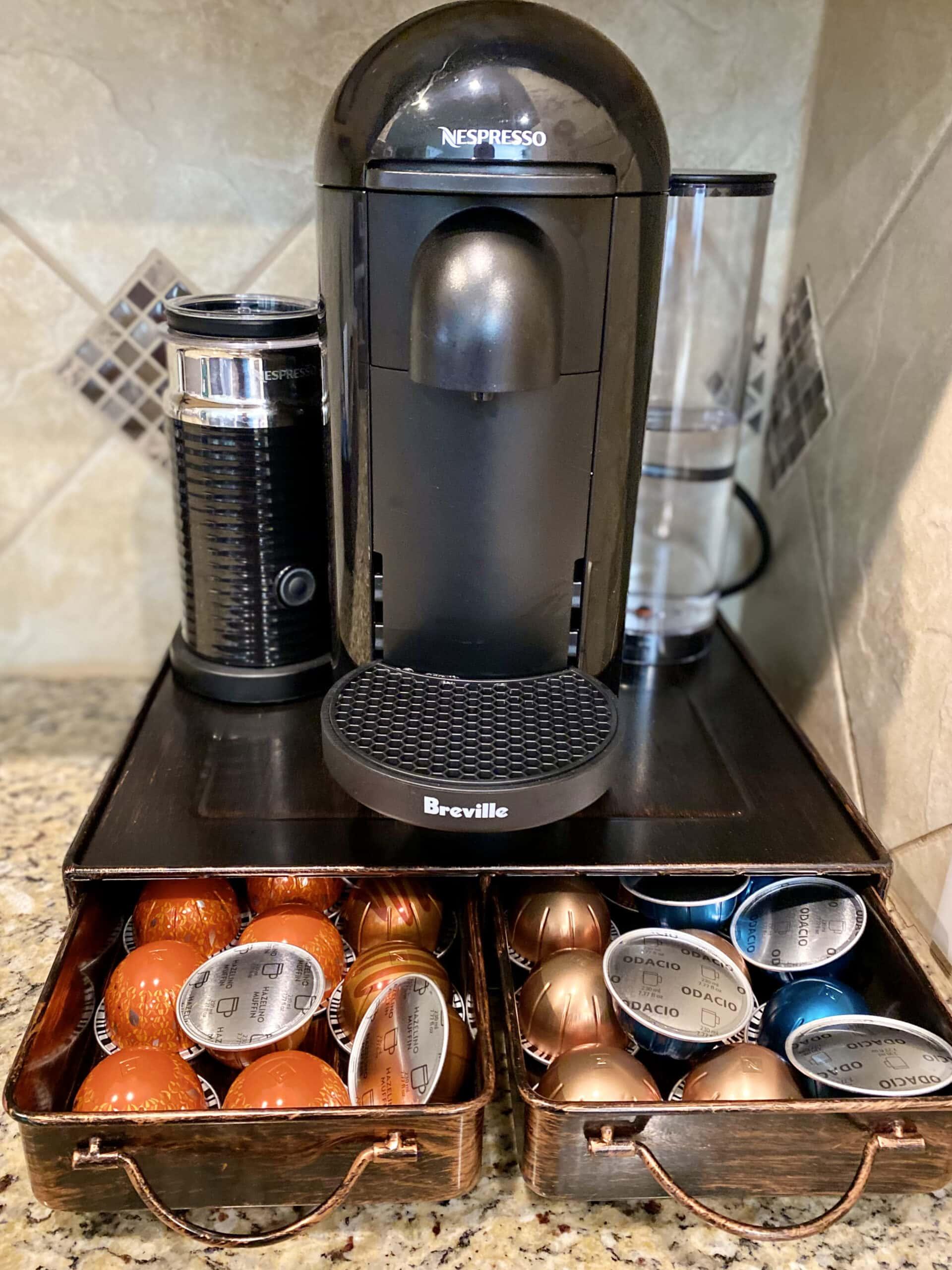 nespresso drawer