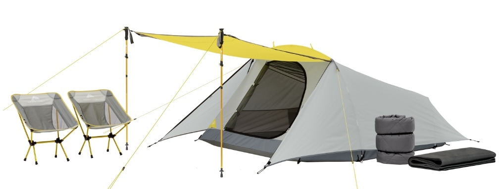 tent and chairs bundle