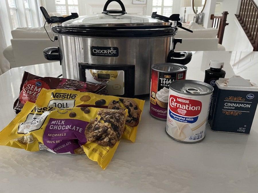 Chocolate Fondue Recipe Ingredients