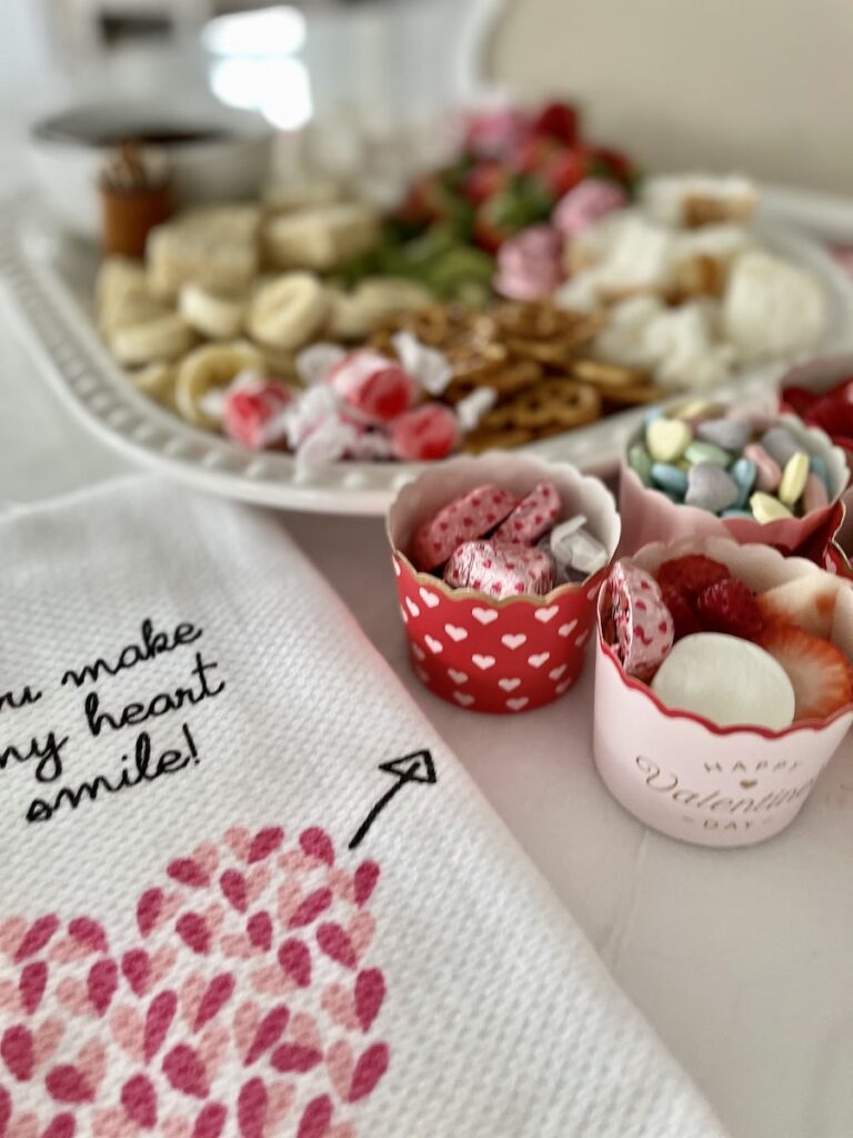 Chocolate Fondue Recipe with Topping Cups