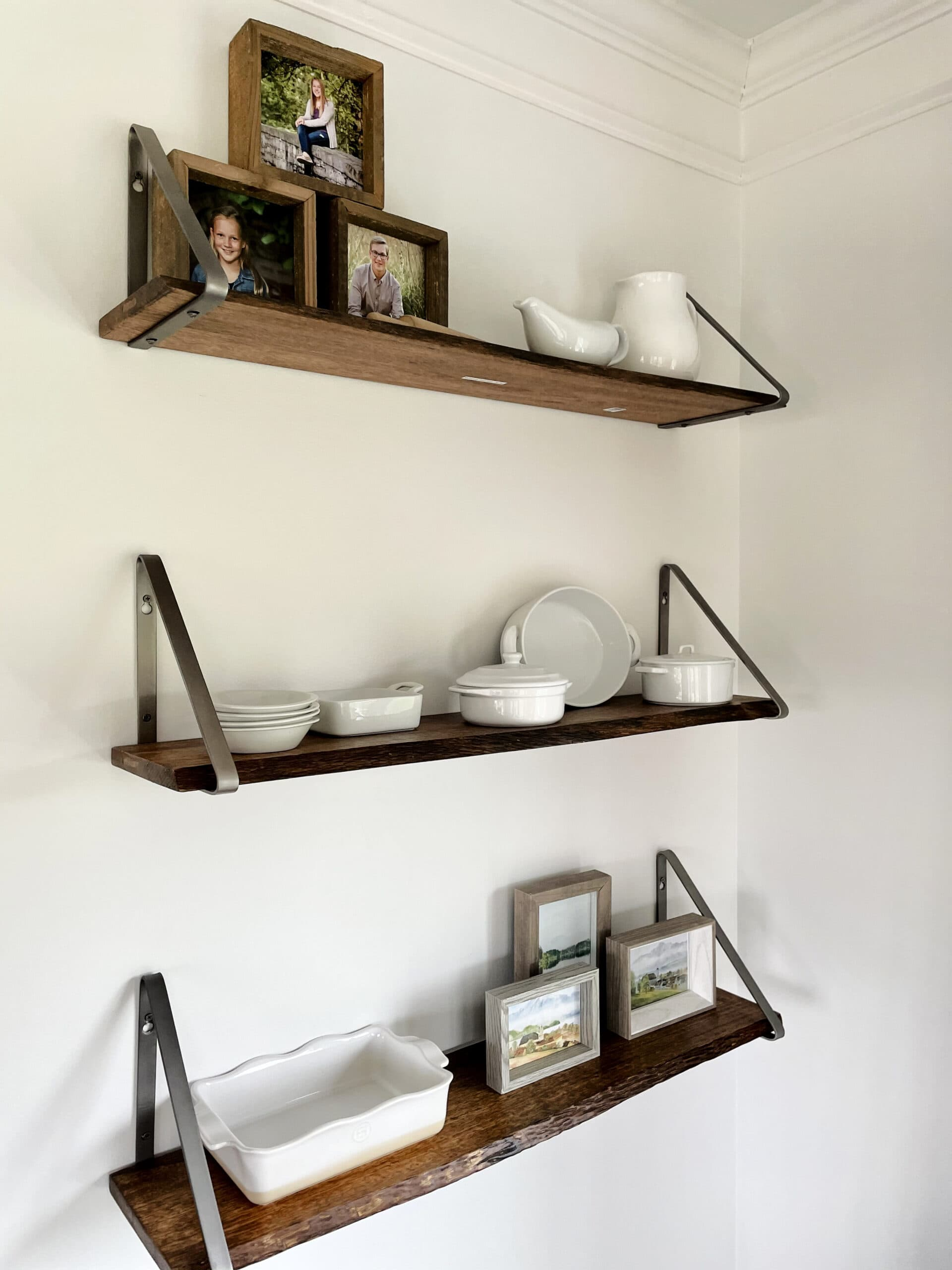 Laurie's shelves