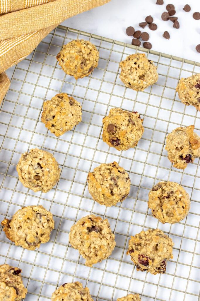 Homemade Trail Mix Cookies