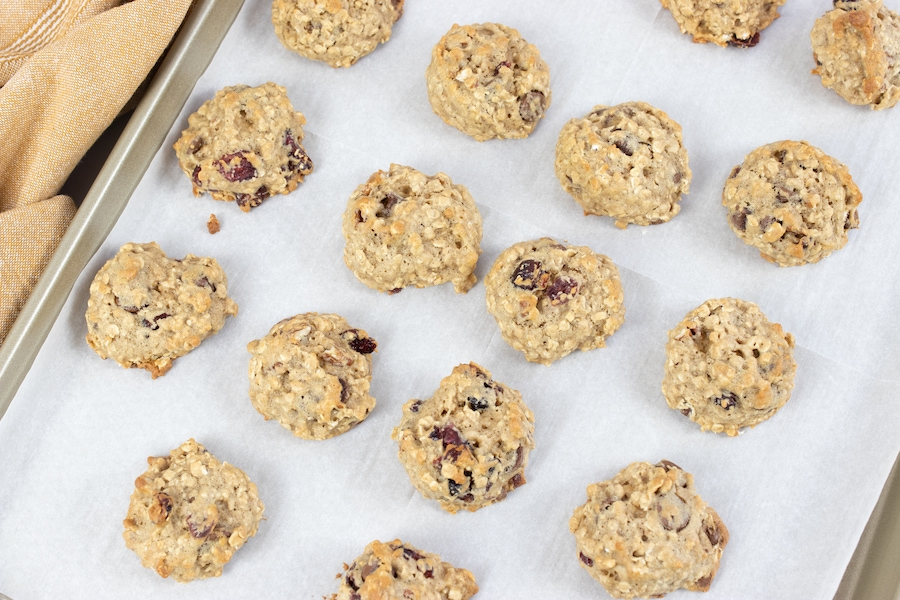 Homemade Trail Mix Cookies